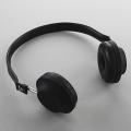 Edle Kopfhörer, Aluminium und braunes Lammleder