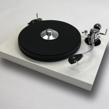 Pro ject 2Xperience SB 2-Shape in weiß mit Ortofon SPU #1E Tonabnehmer
