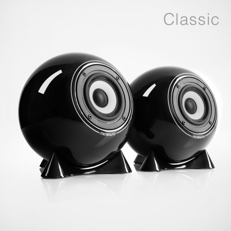 mo° sound Kugellautsprecher, classic, schwarz