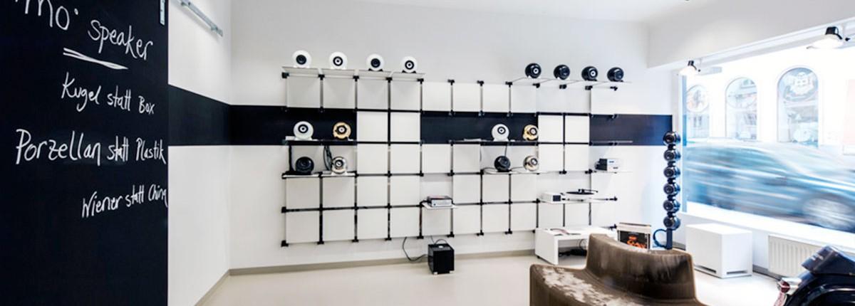 mo° sound store inside the shop.